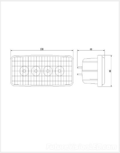 John Deere R161288 LED Light – John Deere 4755 Fuse Panel Diagram